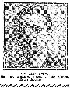 john-byrne-pic Burning of Dublin Custom House 1921