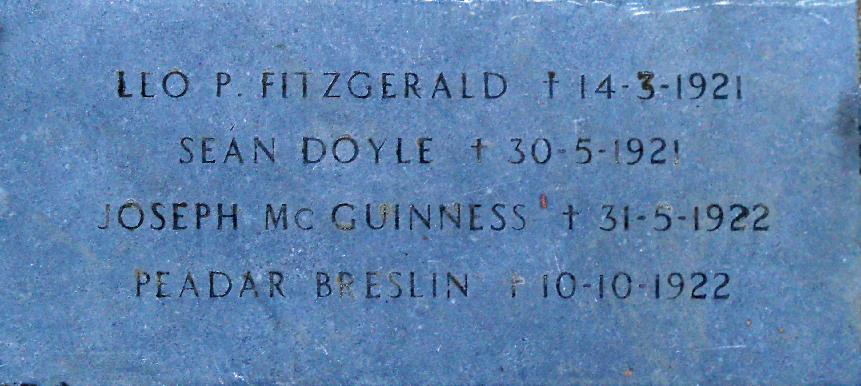 plaque-sean-doyle-others