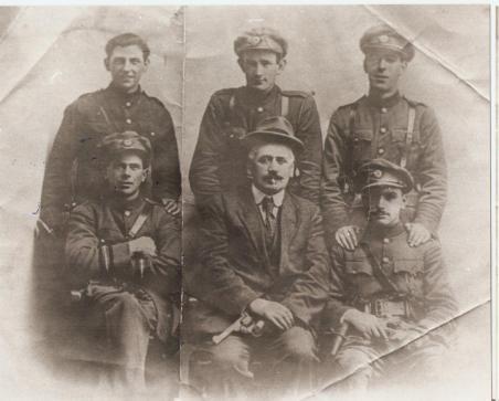 Soldiers x 6 Keogh slattery, Joe Dolan etc