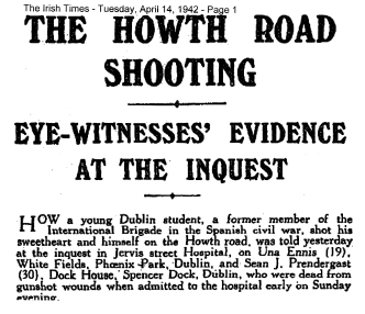 Howth Road shooting