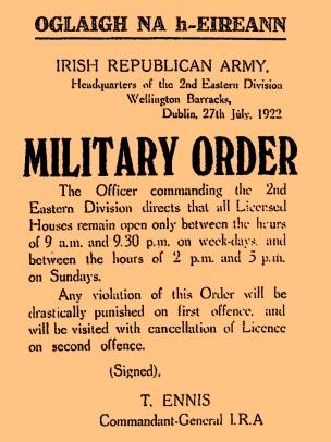 Tom's Military Order No 1