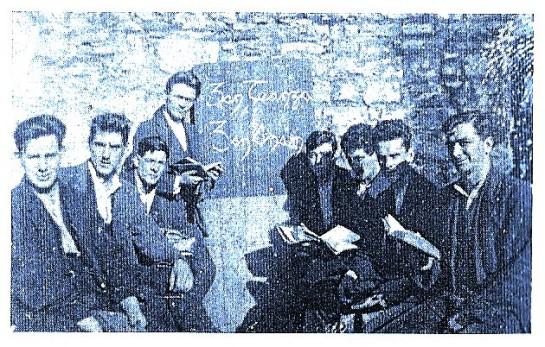 Dan Finlayson Kilmainham Goal 1921(2nd left)