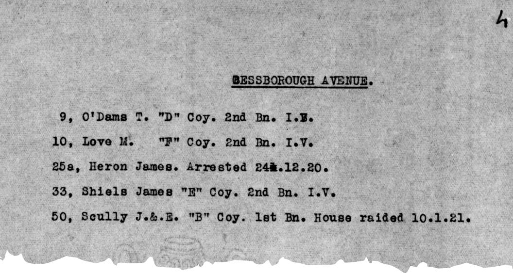 On arrest list